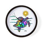 Sea Turtle (nobk) Wall Clock