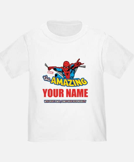 The Amazing Spider-man Personalize T