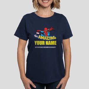 The Amazing Spider-man Person Women's Dark T-Shirt