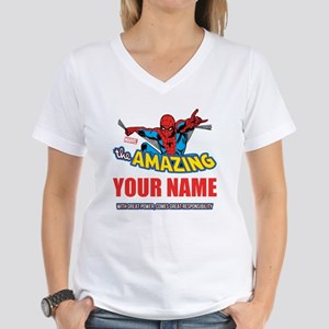 The Amazing Spider-man Pers Women's V-Neck T-Shirt