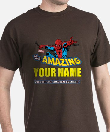 The Amazing Spider-man Personalized T-Shirt