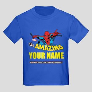 7a1cbe3757d The Amazing Spider-man Personali Kids Dark T-Shirt