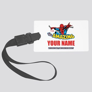 The Amazing Spider-man Personali Large Luggage Tag