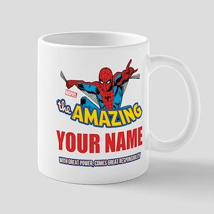 c44695e6b19 The Amazing Spider-man Personalized Mug