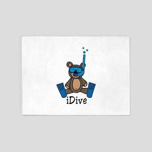 iDive 5'x7'Area Rug