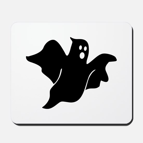 Black scary ghost Mousepad