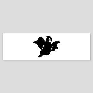 Black scary ghost Sticker (Bumper)