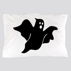 Black scary ghost Pillow Case