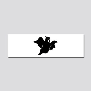 Black scary ghost Car Magnet 10 x 3
