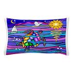 Sea Turtle #4 Pillow Case