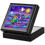Sea Turtle #4 Keepsake Box