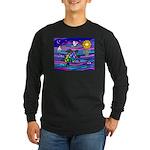 Sea Turtle #4 Long Sleeve Dark T-Shirt