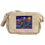 Sea Turtle #4 Messenger Bag