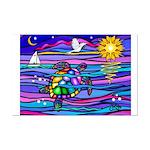 Sea Turtle #4 Mini Poster Print