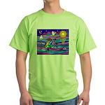 Sea Turtle #4 Green T-Shirt