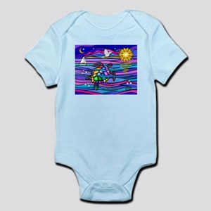 Sea Turtle #4 Infant Bodysuit