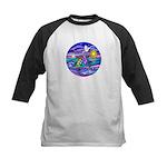 Sea Turtle #4 Kids Baseball Jersey