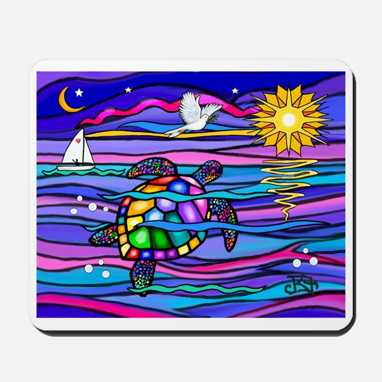 Sea Turtle #4 Mousepad