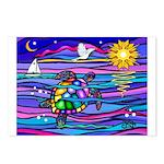 Sea Turtle #4 Postcards (Package of 8)