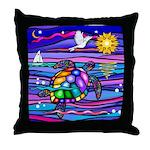 Sea Turtle #4 Throw Pillow