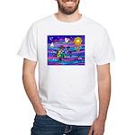 Sea Turtle #4 White T-Shirt