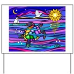 Sea Turtle #4 Yard Sign