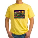 Sea Turtle #4 Yellow T-Shirt