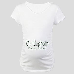 County Tyrone (Gaelic) Maternity T-Shirt