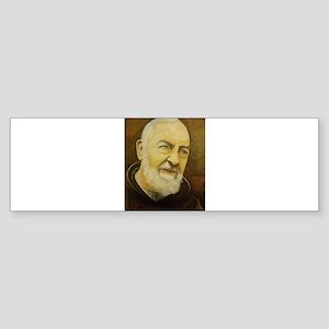 Padre Pio Bumper Sticker