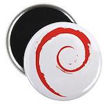Debian Swirl Magnet