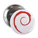 Debian Swirl Button (10 pack)