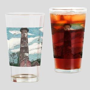 Assateague Island Lighthouse Drinking Glass