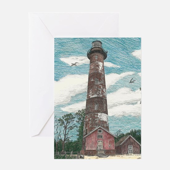 Assateague Island Lighthouse Greeting Card
