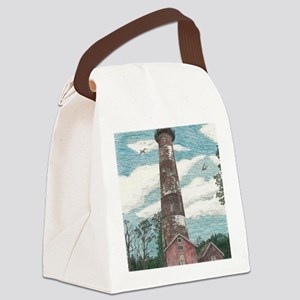 Assateague Island Lighthouse Canvas Lunch Bag