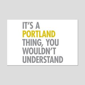Its A Portland Thing Mini Poster Print