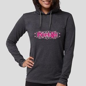Pro-Life (pink) Long Sleeve T-Shirt