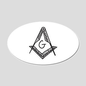 Masonic Wall Decal