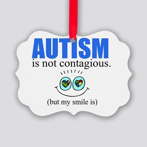 Autism Smile Picture Ornament