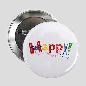 Happy Scrappy Button