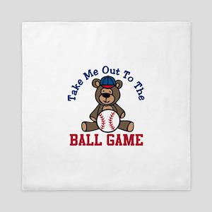 Ball Game Queen Duvet