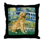 Bridge & Golden Throw Pillow