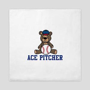 Ace Pitcher Queen Duvet