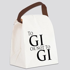 To Gi or Not To Gi Canvas Lunch Bag