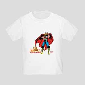 The Mighty Thor Personalized Desig Toddler T-Shirt
