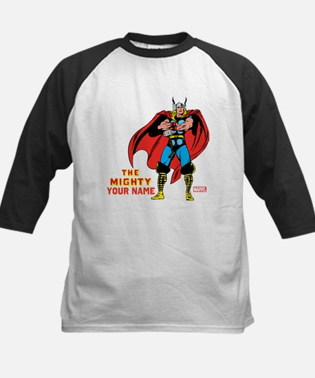 The Mighty Thor Personalized Kids Baseball Jersey