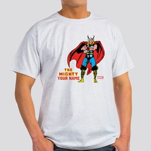 The Mighty Thor Personalized Design Light T-Shirt