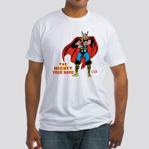 The Mighty Thor Personalized Design Fitted T-Shirt