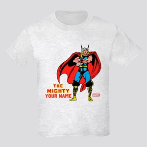 The Mighty Thor Personalized De Kids Light T-Shirt