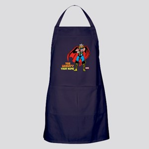 The Mighty Thor Personalized Design Apron (dark)