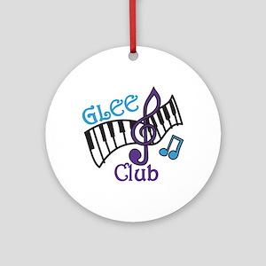 Glee Club Ornament (Round)